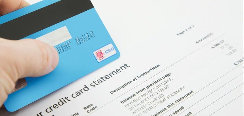 Credit Card Statement Balance