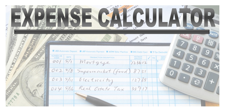 Expense Calculator