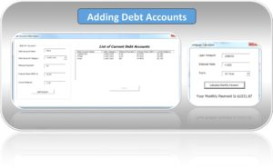 Adding Debt Accounts Into Excel Snowball Calculator Template