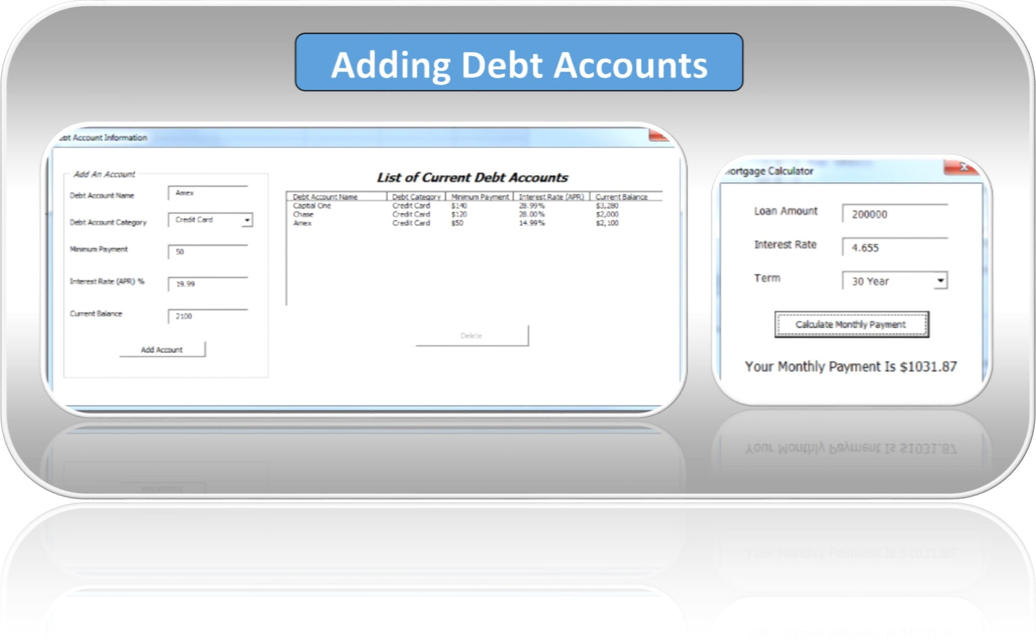 debt snowball calculator excel spreadsheet