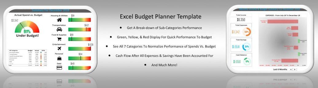 Excel Budget Planner Dashboard Mega Slider 1080x280