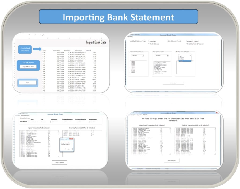 Excel Budget Template Bank