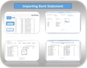 Excle Budget Template Bank Import