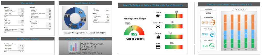 Excel Budget Template Overview V2