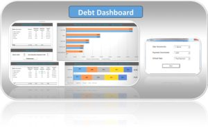 Excel Debt Snowball Template Dashboard