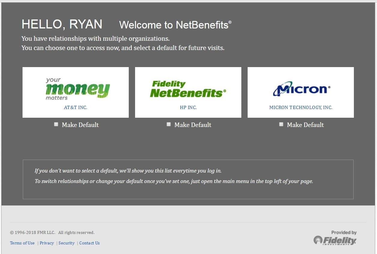 logging into fidelity netbenefits plan fidelity 401k netbenefits login