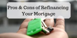 Mortgage refinance calculator pros and cons